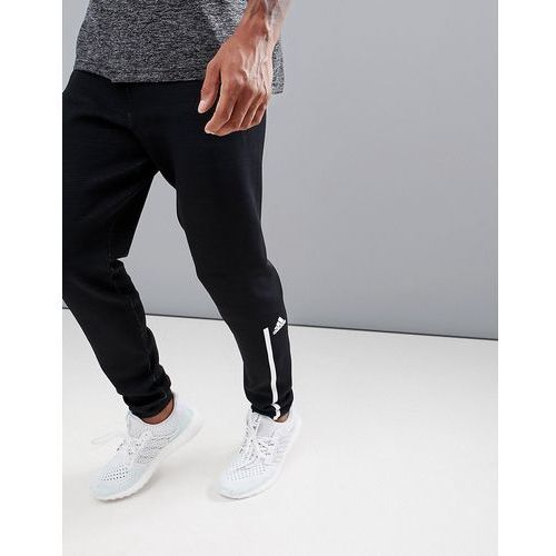 Adidas athletics parley zne joggers in black dh1406 - black