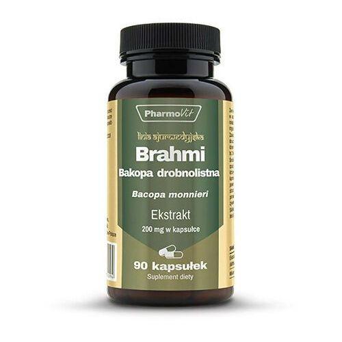 Kapsułki Brahmi Bakopa drobnolistna ekstrakt 20:1 200mg 90 kapsułek PharmoVit