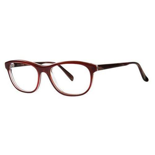 Okulary korekcyjne lula burgundy marki Vera wang