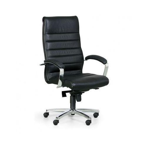 Fotel biurowy horizont, czarny marki Topstar