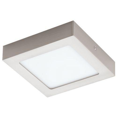 Lampa sufitowa fueva 1 kwadratowa 17 cm - nikiel satynowy promocja!, 94524 marki Eglo
