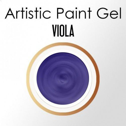 Nails Company ARTISTIC PAINT GEL PASTA 5g - VIOLA (fiolet)