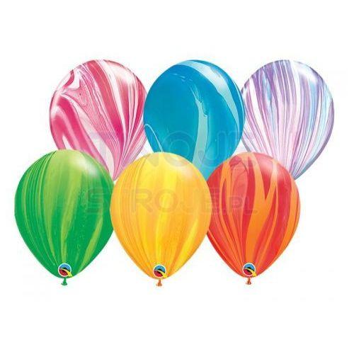 Twojestroje.pl Balon agat mix 30cm 1szt