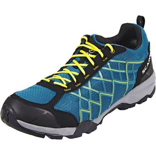 Scarpa hydrogen gtx buty mężczyźni zielony/niebieski 45 2017 buty turystyczne
