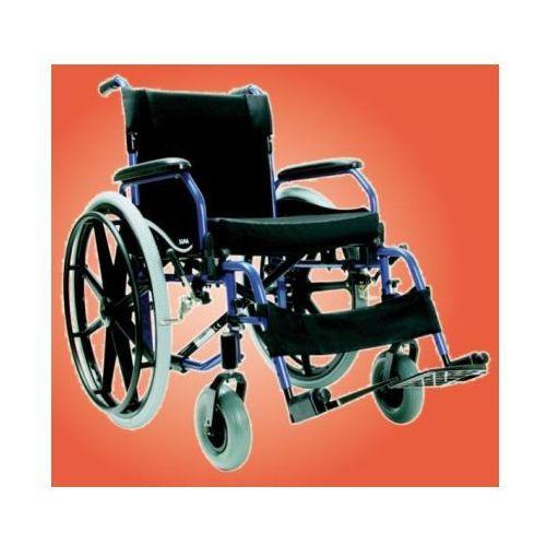 Wózek inwalidzki, aluminiowy SOMA SM-802 z kategorii Wózki inwalidzkie