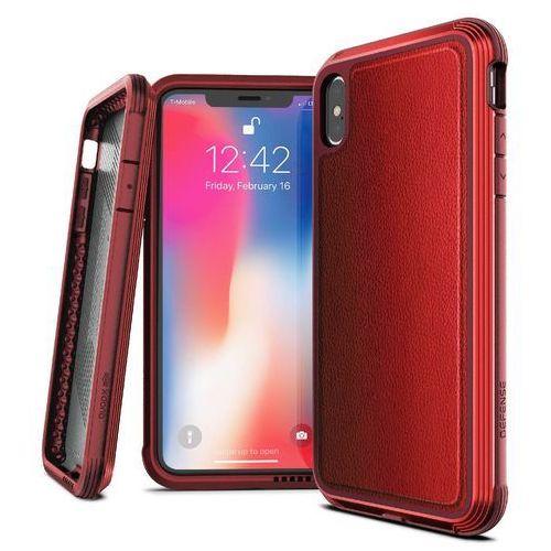 X-Doria Defense Lux Etui Aluminiowe iPhone Xs Max (Red) (Drop Test 3m) (6950941473217)