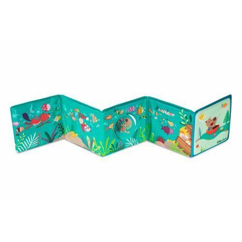 Rozkładana książeczka harmonijka do kąpieli Lilliputiens - Miś Cesar L83006 (9782930417448)