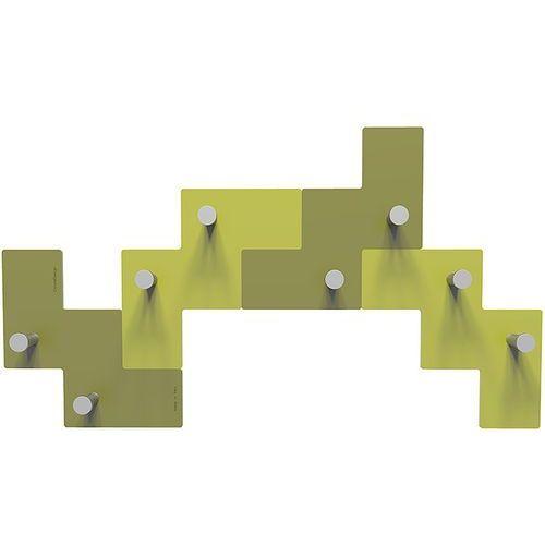 Wieszak ścienny Clo Clo CalleaDesign oliwkowo-zielony (13-001-54)