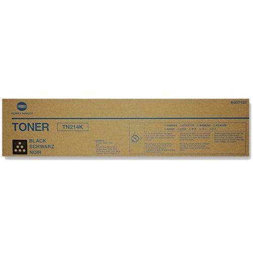 Oryginalny toner konica tn-214k [a0d7154] black marki Minolta