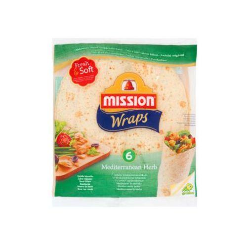 Mission Tortilla pszenna z ziołami śródziemnomorskimi 6szt