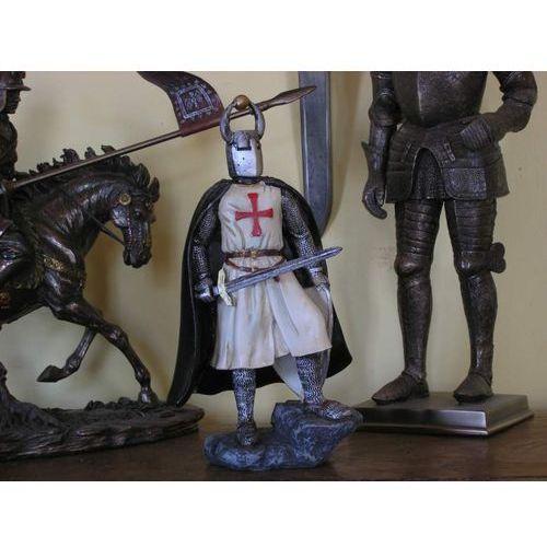 Włochy Unikatowy templariusz z mieczem i tarczą (ag511.01)