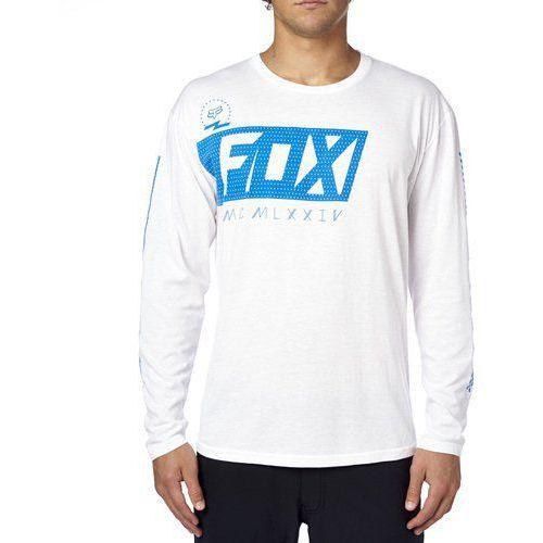 Fox_sale Koszulka z długim rękawem fox primary step optic white