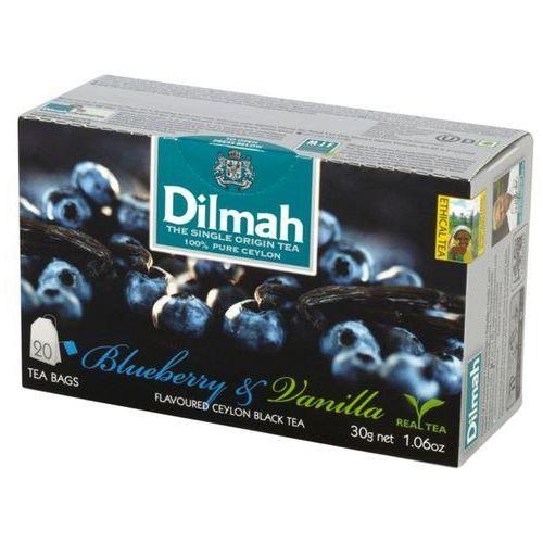 Dilmah Herbata blueberry & vanilla 20 torebek