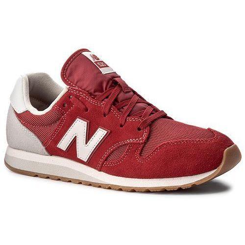 Sneakersy NEW BALANCE - U520AH Czerwony, w 6 rozmiarach