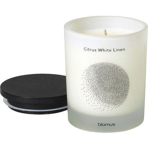 Świeca zapachowa Flavo 7 cm Citrus White Linen (4008832658044)