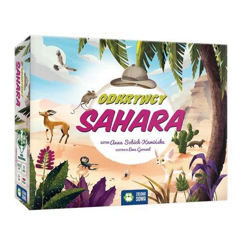 Odkrywcy. Sahara. Gra