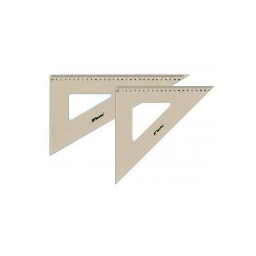 Przybory kreślarskie Ekierka profesjonalna plastikowa 45/21cm x1