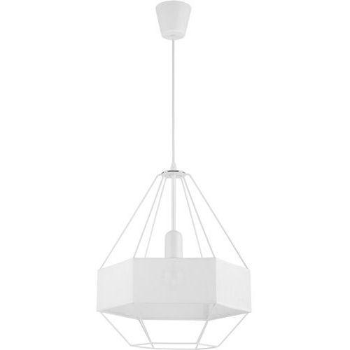 Tk lighting Żyrandol na drutu cristal new 1xe27/60w/230v biały (5901780515263)