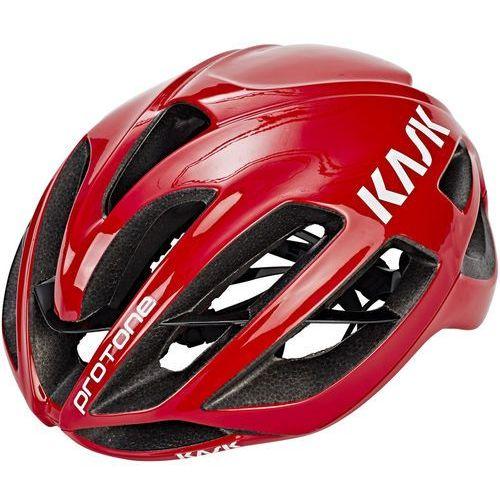 Kask Protone Kask rowerowy czerwony L | 59-62cm 2018 Kaski szosowe