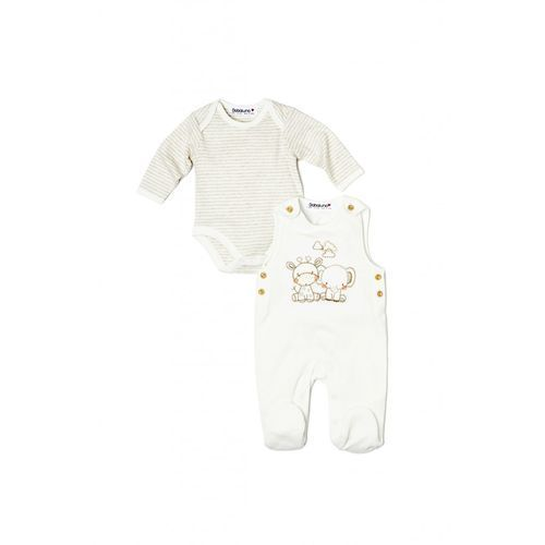 Babaluno Komplet niemowlęcy body+pajac 5p33ai (5033819805127)