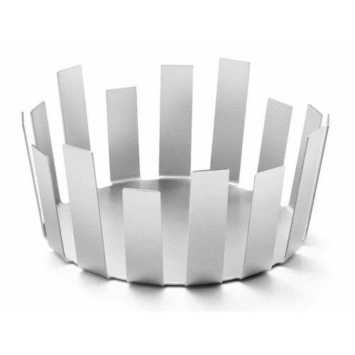 Zack - koszyk tosto śr. 28 cm - stal nierdzewna matowa - 28,00 cm