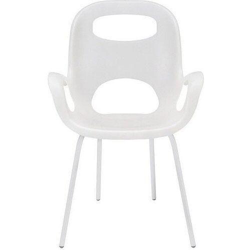 Krzesło Oh białe z białymi nogami