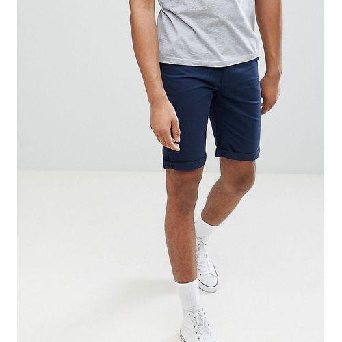 tall chino shorts in navy - navy marki Bellfield