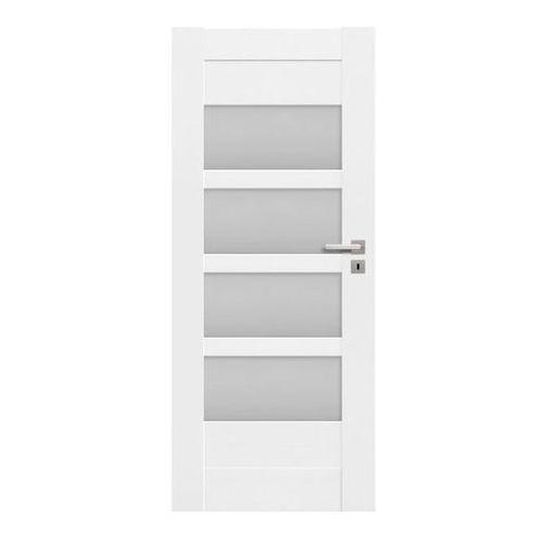 Drzwi pokojowe Ombra 70 lewe kredowo-białe, OMB105019