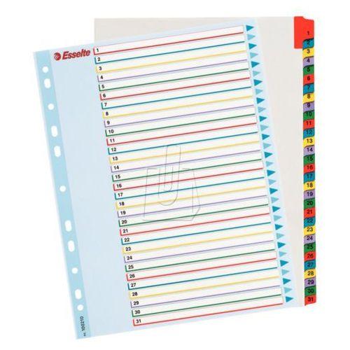 Przekładki kartonowe Maxi Esselte 1-31 kart 100210, BP10479