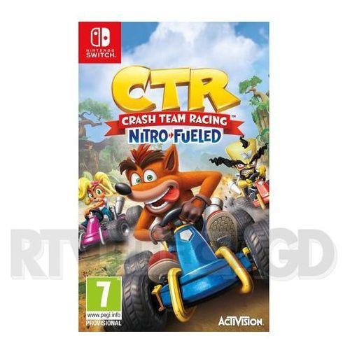 Crash team racing nitro-fueled switch marki Activision