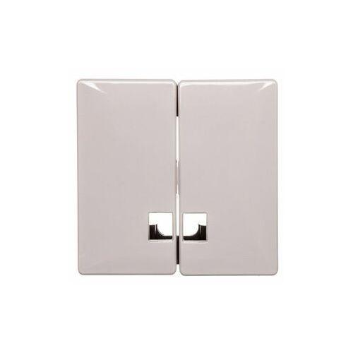 Klawisz świecznikowy przycisk 2x beżowy tworzywo MTN413544 (3606485003979)
