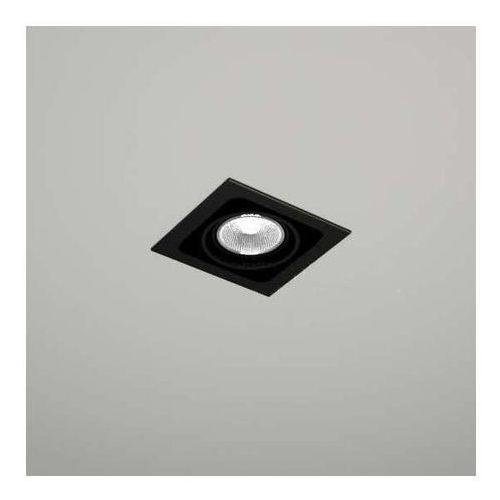 Spot LAMPA sufitowa EBINO 3304/GU5.3/CZ Shilo podtynkowa OPRAWA metalowe OCZKO wpust czarny, 3304/GU5.3/CZ