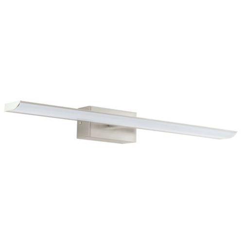 Kinkiet LAMPA ścienna TABIANO 94615 Eglo szklana OPRAWA minimalistyczna łazienkowa LED 9,6W nad lustro satyna
