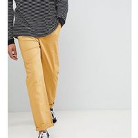 Asos design tall relaxed chinos in mustard - brown