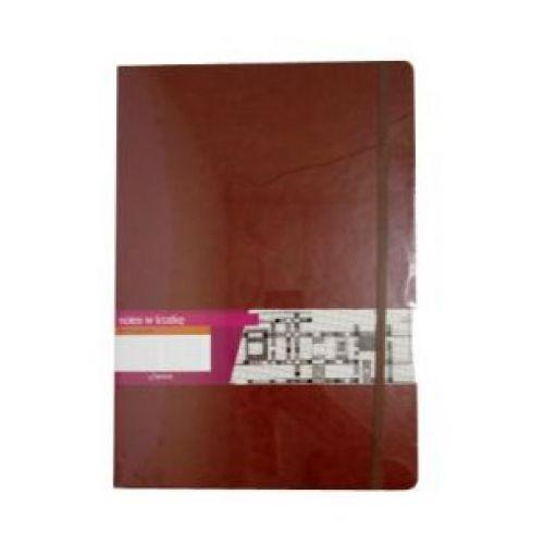 Notes A4 Formalizm brązowy w kratkę, WIKR-964217