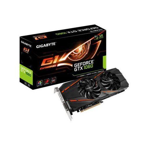 Gigabyte GTX1060 G1 GAMING 6G GDDR5 256BIT DV/HD - DARMOWA DOSTAWA!!! - produkt z kategorii- Karty graficzne
