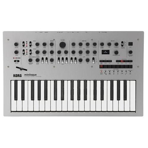 KORG MINILOGUE analogowy polifoniczny syntezator (keyboard, syntezator)