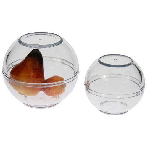 Zestaw 2 okrągłych kulek WESTMARK do przechowywania cebuli i czosnku