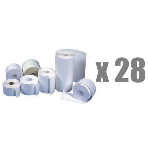 Rolki papierowe do kas termiczne , 28 mm x 25 m, opakowanie 28 x zgrzewka 10 rolek - autoryzowana dystrybucja - szybka dostawa marki Emerson