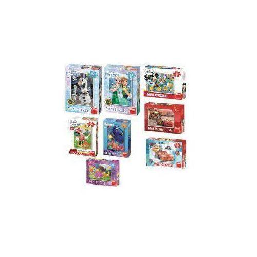 Puzzle 54 Mini Opowieści Disneya, różne rodz. DINO