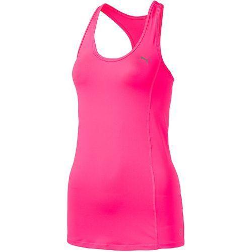 Puma koszulka sportowa essential layer tank knockout pink l (4056207893118)