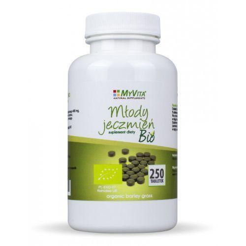 Młody jęczmień 500 mg bio - 250 tabl marki Myvita - OKAZJE