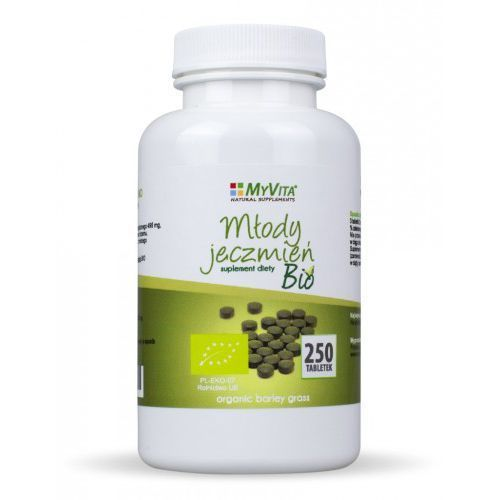 Młody jęczmień 500 mg bio - 250 tabl marki Myvita