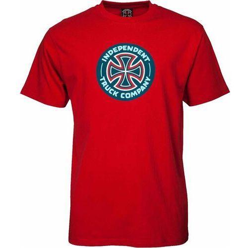 koszulka INDEPENDENT - Combo TC Cardinal Red (CARDINAL RED) rozmiar: M