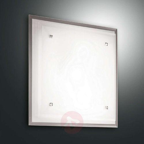 Szklana lampa sufitowa maggie, 30 x 30 cm marki Fabas luce