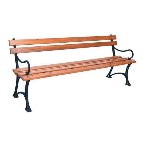 Rojaplast ławka parkowa z podłokietnikami (5905919017307)