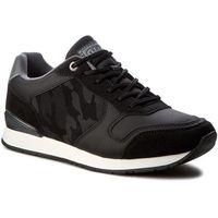 Sneakersy GINO LANETTI - MP07-16823-02 Czarny, w 2 rozmiarach