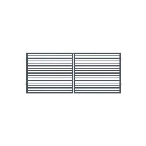 Brama dwuskrzydłowa rubin 350 x 150 cm marki Polargos
