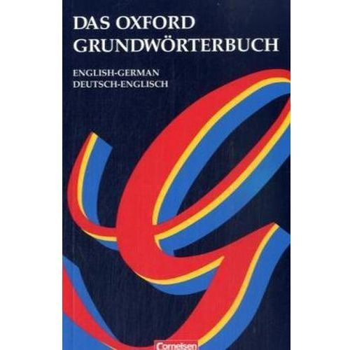Das Oxford Grundwörterbuch, English-German, Deutsch-Englisch (9783464104576)