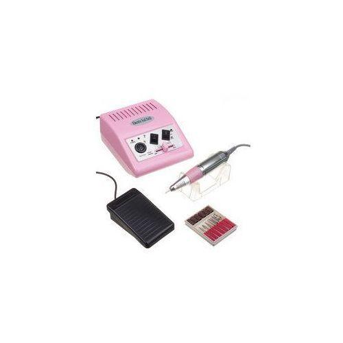 Frezarka do manicure jd500 twist różowa + zestaw frezów marki Vanity_b